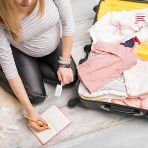 Klinikkoffer vor der Entbindung packen