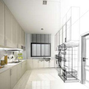 Bereiten Sie sich für die Küchenplanung vor