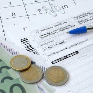 Haben Sie alle Unterlagen für die Steuererklärung zusammen?