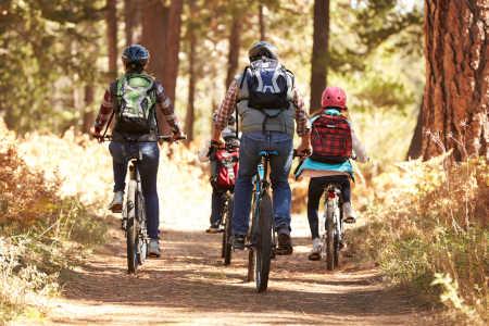 Hier die Tipps für den Fahrradurlaub mit Kindern