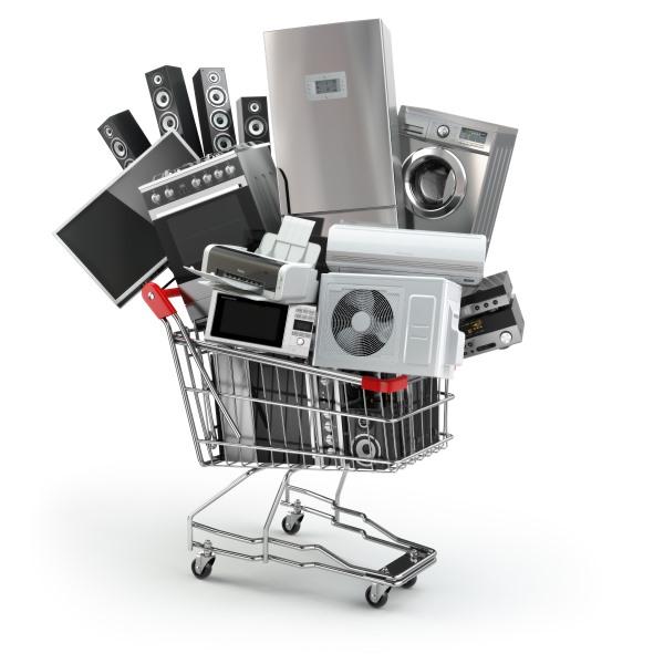 Die Checkliste Haushaltsgeräte ist eine Einkaufshilfe