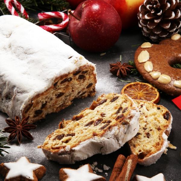 kostenloses weihnachtliches Stollen-Rezept