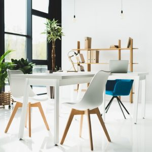 clevere moderene Büroeinrichtung