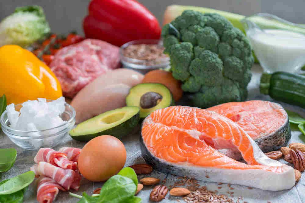Die Checkliste Low Carb enthält viele Lebensmittel mit niedrigen Kohlenhydratgehalt